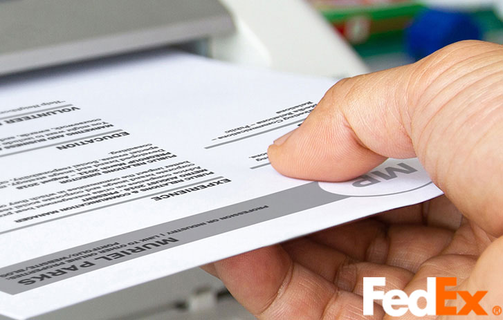 Fax From FexEx Shipping Center
